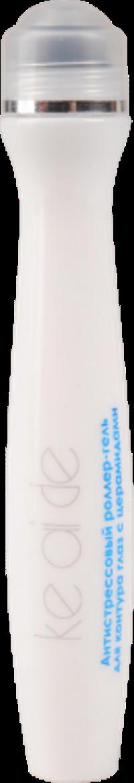 Антистрессовый роллер-гель для контура глаз с церамидами