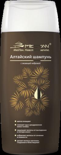 Алтайский шампунь с живицей кедровой со скидкой 50%